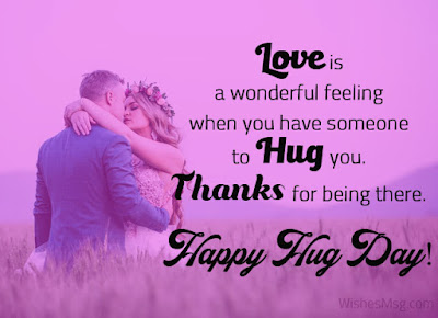 Hug day wishes quotes messages in english