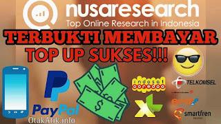 Cara Mendapatkan Uang Gratis dari Mengisi Survey di Nusaresearch