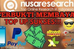 Cara Mendapatkan Uang Gratis dari Mengisi Survey di Nusaresearch - Terbukti Legit