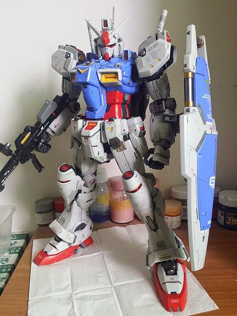 PG 1/60 RX-78 GP01 Gundam Zephyranthes Fb - Customized