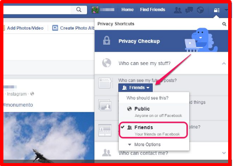 how to search for private facebook profiles