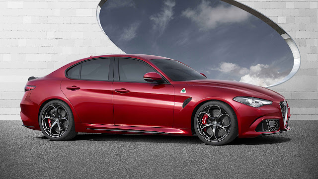 Alfa Romeo Giulia Quadrifoglio makes its public debut at Frankfurt Motor Show
