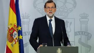 MARIANO RAJOY QUIERE DEFINICIONES DE INDEPENDENCIA CATALANA O NO