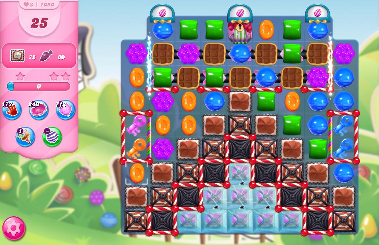 Candy Crush Saga level 7050