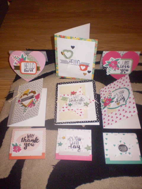 Creative Cards Created by Moi