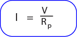 Rumus Arus pada rangkaian hambatan paralel resistor