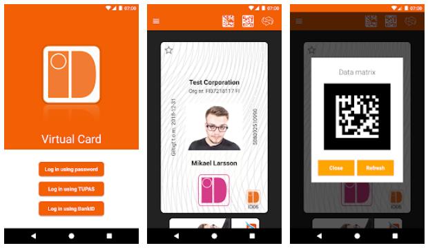 YouthApps - ID06 card - Digital Identity Card