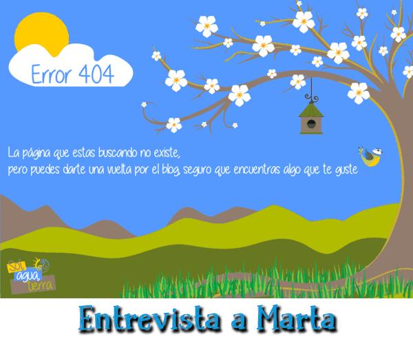 Entrevista de Mini-Fu: Marta del blog Sol Agua Tierra
