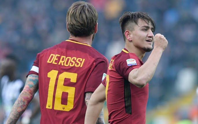 Serie A, la Roma torna 3° in classifica: 0-2 a Udine con Under e Perotti, stasera Genoa-Inter