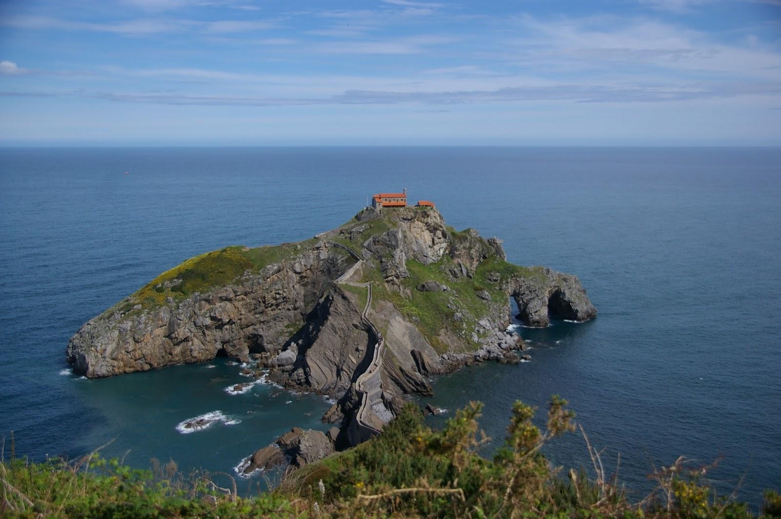 Kraj Basków San Juan de Gaztelugatxe