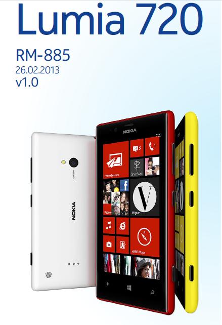 Download Schematic Diagram Nokia Lumia 720 Komplit