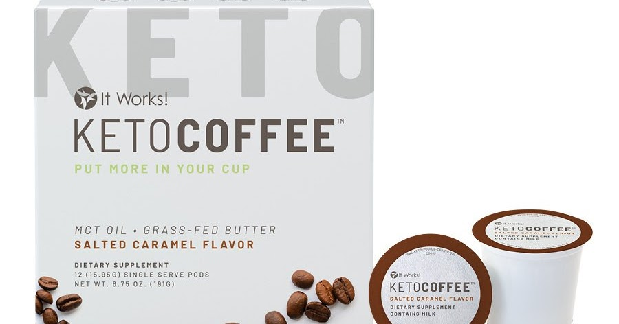 what is in keto coffee by it works