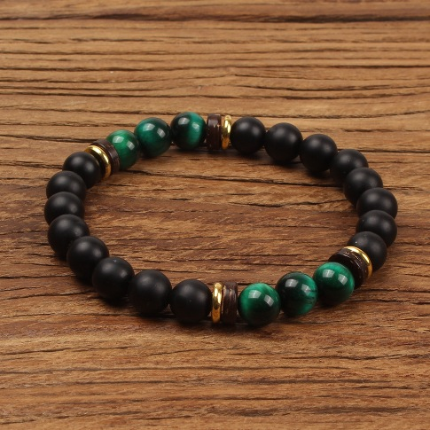Natural Stone Fashion Geometric bracelet (B6267-A) NHGW0245-B6267-A- Price: US$1.21