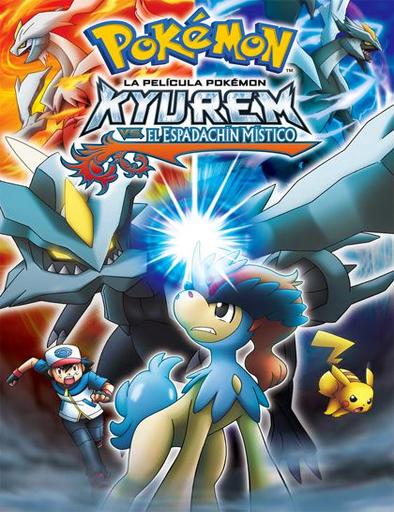 ver Pokémon 15: Kyurem contra el Espadachín Místico (2012) Online