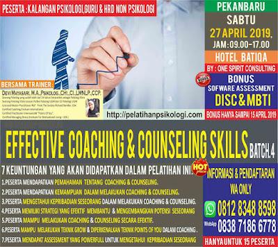 Pelatihan Psikologi Industri | Pelatihan Alat Tes Psikologi 2019 | WA: 0812-8348-8598