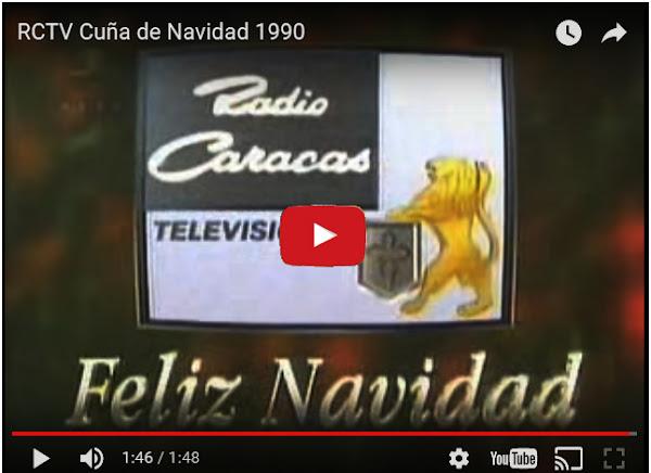 Comerciales de Navidad de RCTV desde 1982