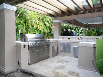 dapur outdoor - luar rumah