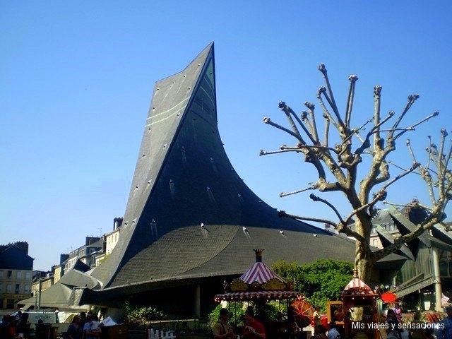 Iglesia de Juana de Arco, Alta Normandia, Francia
