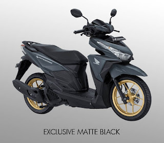 Vario 150 Exclusive Matte Black