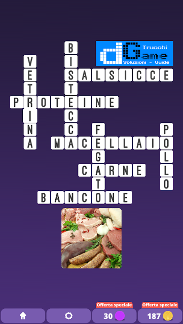 Soluzioni One Clue Crossword livello 25 schemi 6 (Cruciverba illustrato)  | Parole e foto