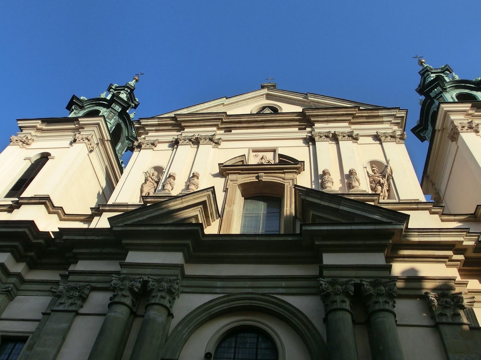 Www Wiersze Wycieczki Wspomnienia Barok W Krakowie Kilka