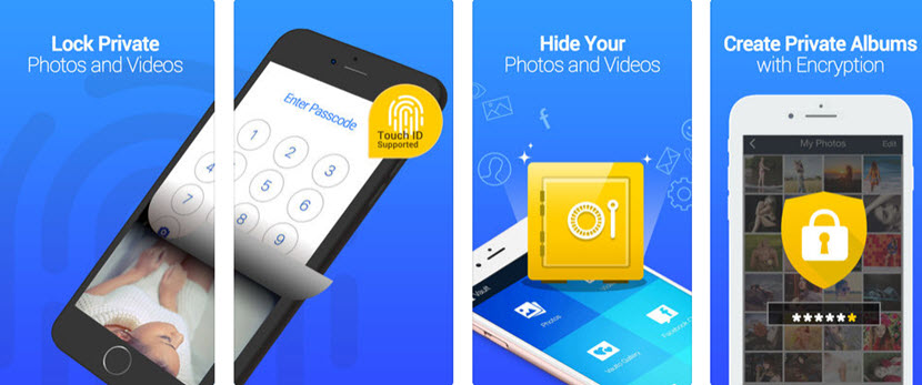 كيف تخفي الصور في الآيفون مع تطبيق متخصص
