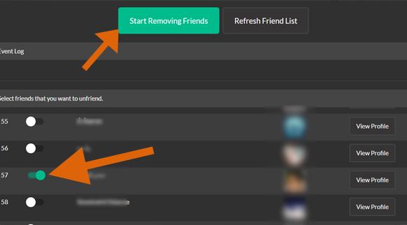 طريقة حذف جميع الاصدقاء من الفيس بوك