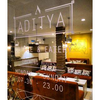 Logo Aditya Coffee & Eatery