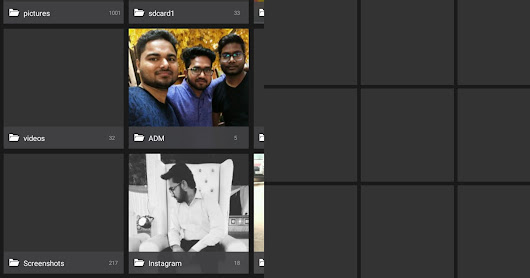 Remove Auto Generated Blank Thumbnails of Photos and Videos in Android Gallery - [Solved]