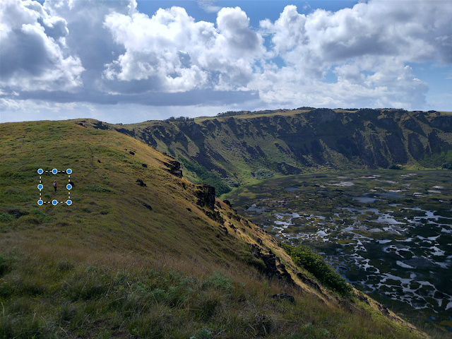 Rano Kau, Isla de Pascua