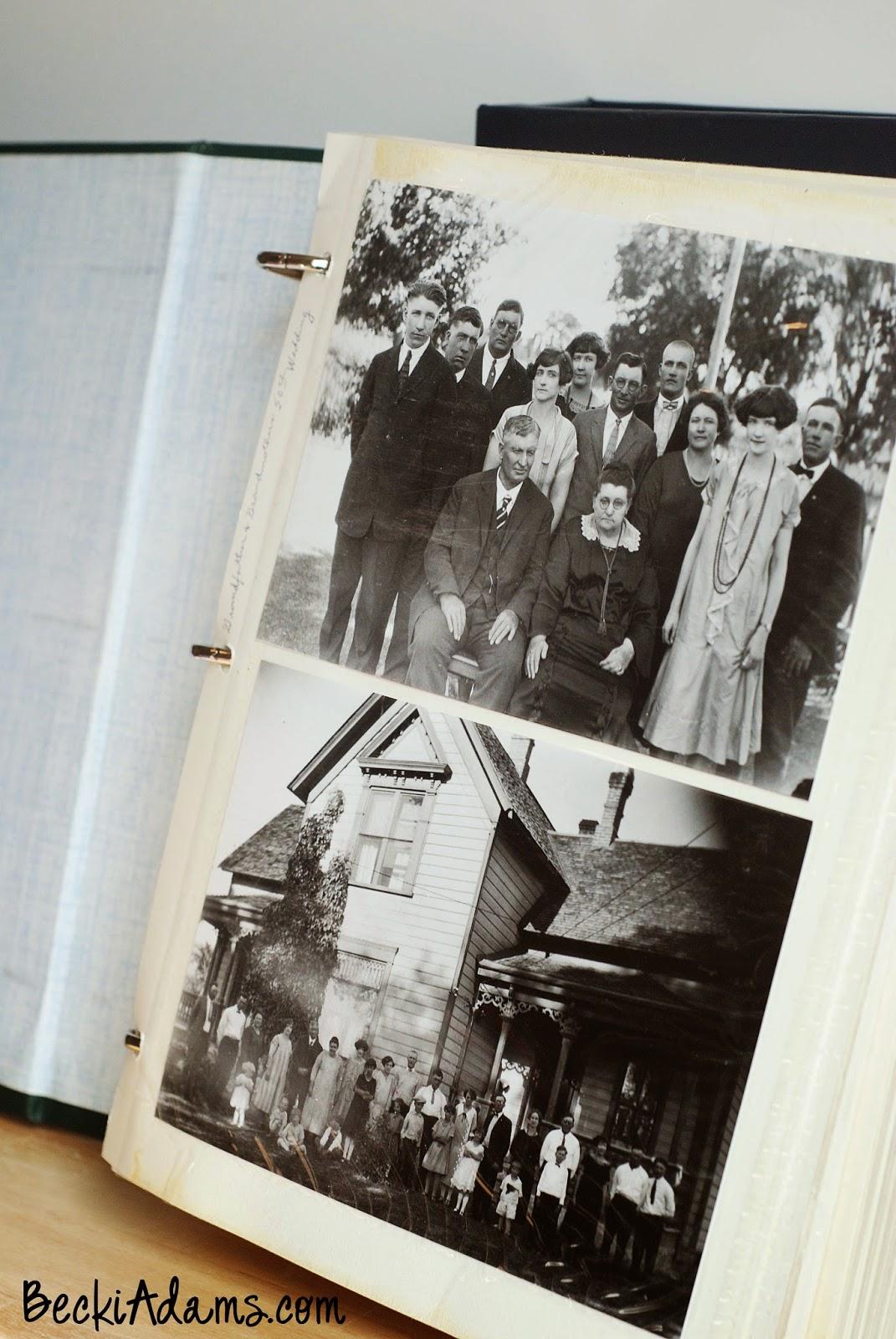 Restoring old Photo albums