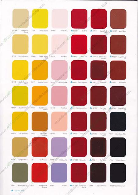 warna cat duco nippon paint katalog 2