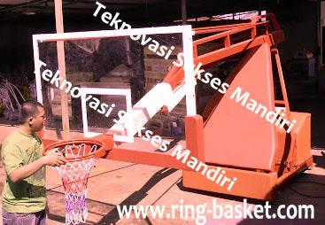 jual peralatan tiang basket