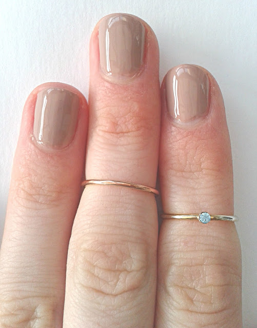 Me & Zena Birth Stone Midi Rings