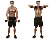 Two Arm Dumbbell Upright Row