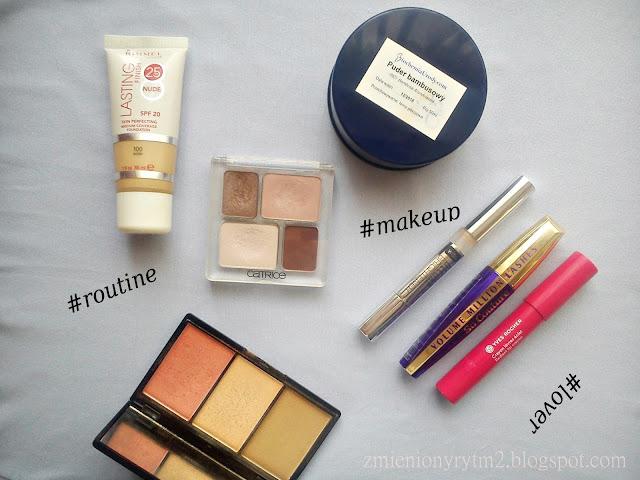 ROUTINE: Codzienny makijaż | wiosna 2016