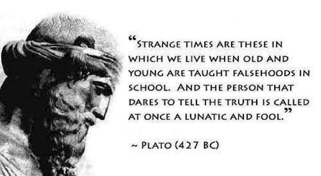 top Plato Quotes falsehood in school