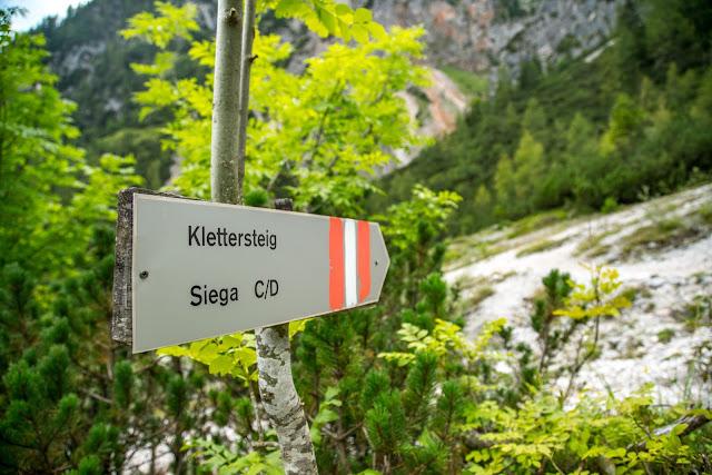Silberkarklamm Rundweg Wilde Wasser und Klettersteige  Ramsau am Dachstein   Hias-Klettersteig  Siega-Klettersteig 12
