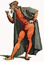 Maschera di Pantalone a Venezia