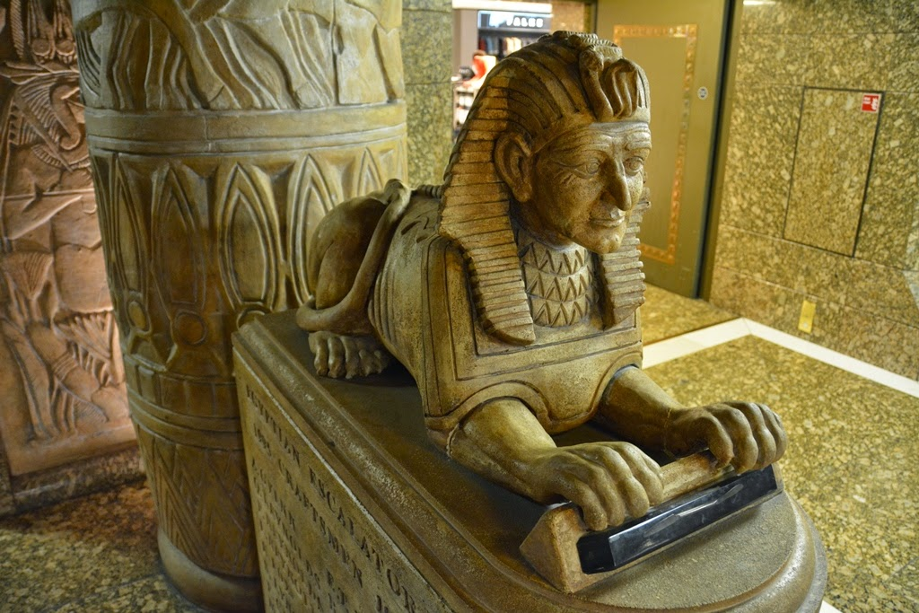 Harrods Egyptian Hall