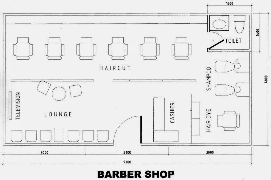 Hair Salon Design Ideas And Floor Plans