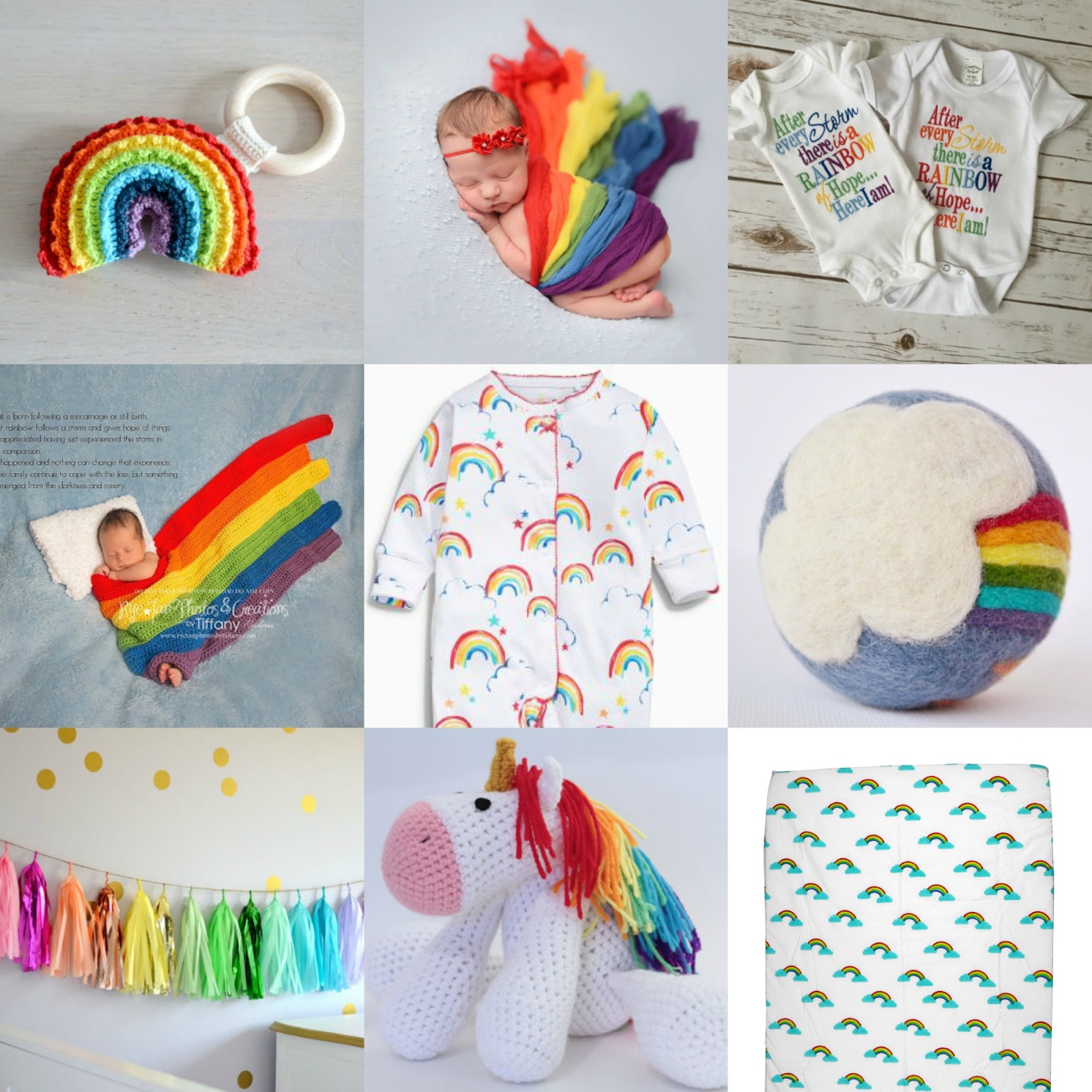Gift ideas for a rainbow baby ♥