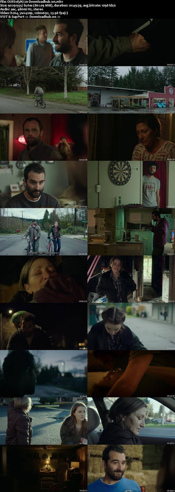 Outside In 2017 English 720p Web-DL 850MB ESubs