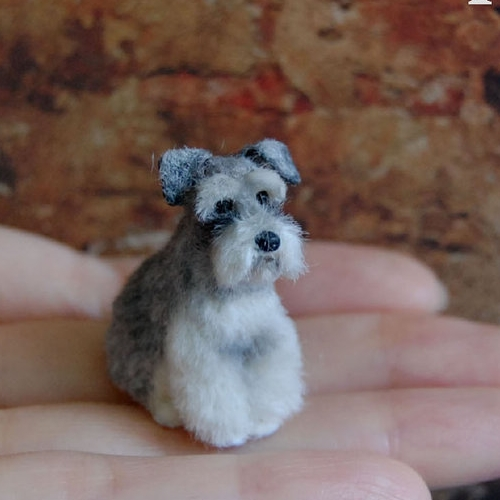 12-Schnauzer-Dog-ReveMiniatures-Miniature-Animal-Sculptures-that-fit-on-your-Hand-www-designstack-co