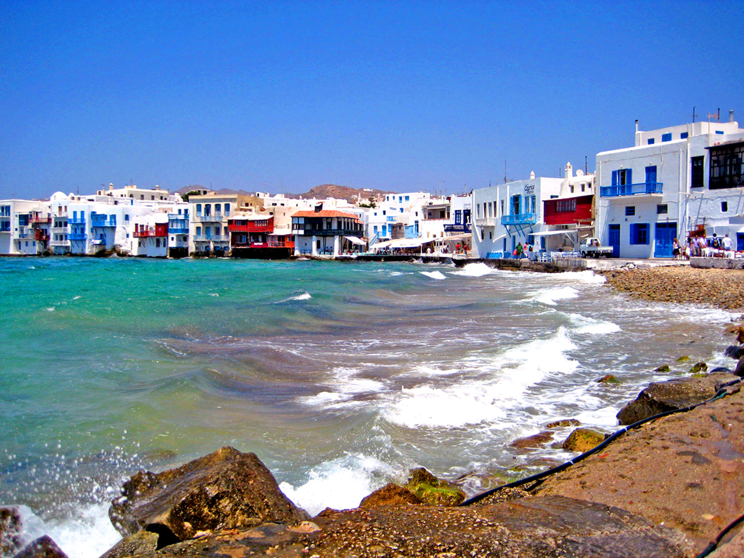 Best Island Beaches For Partying Mykonos St Barts: World Visits: Mykonos Island, And Beach Attraction Located
