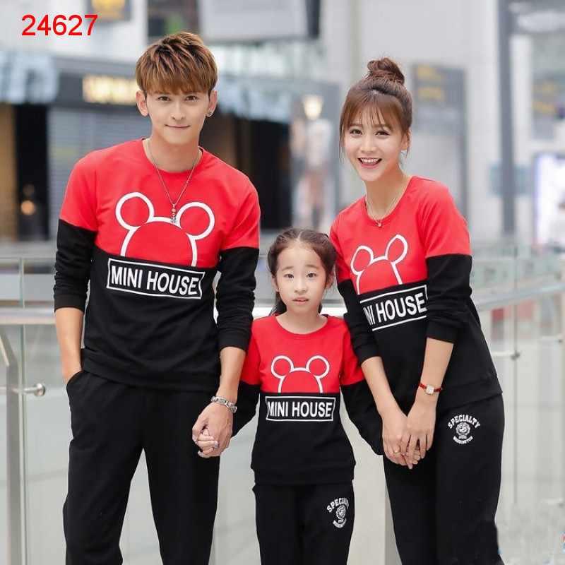 Jual Couple Keluarga Family Sweater Mini - 24627