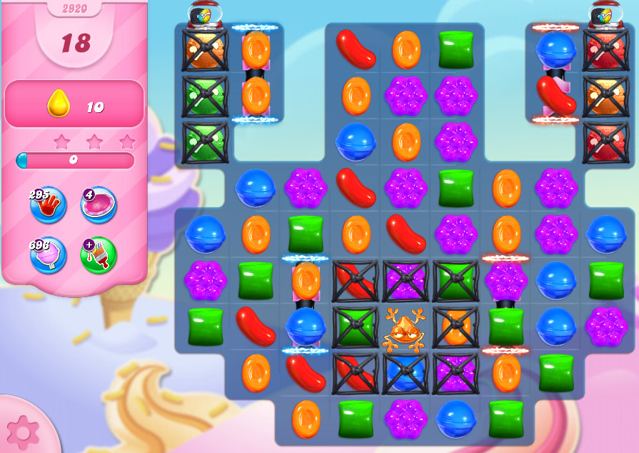 Candy Crush Saga level 2920
