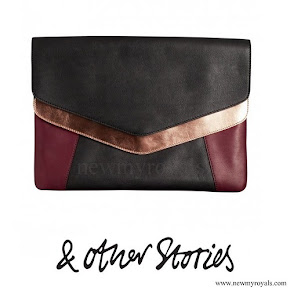 Crown Princess Victoria carried- & Other Stories Scuba Leather Clutch