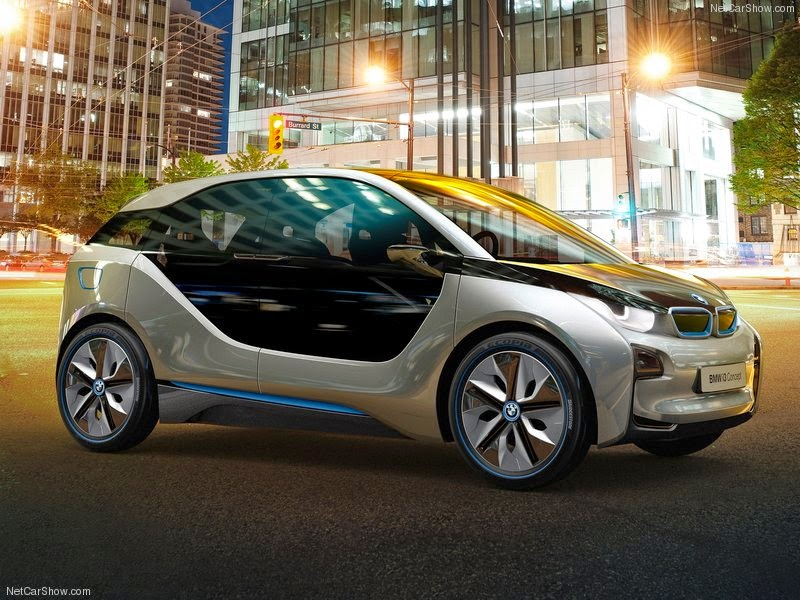 Car And Motorcycle The All New 2015 Bmw I30 The Electric Car Of The