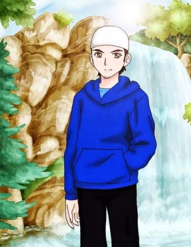 Kartun Islami Ikhwan Gambar Lucu Wallpaper Keren Cool Moslem Anime
